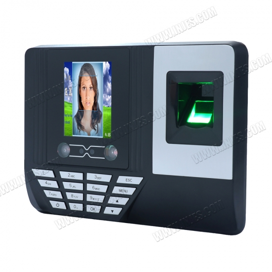 Facial scanning clocking systems